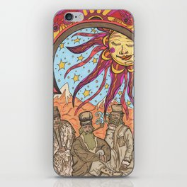 Travelers of the Non-Weary Type  iPhone Skin