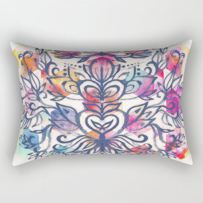 In The Moment Rectangular Pillow
