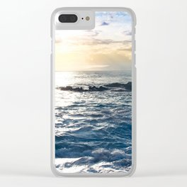 Conference in the Clouds Clear iPhone Case