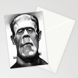 Frankenstein Caricature Stationery Cards