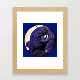 Night's Princess Framed Art Print