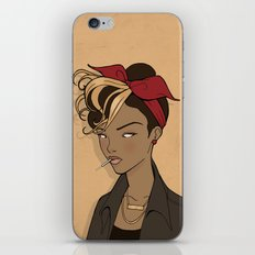 Out come the wolves iPhone & iPod Skin