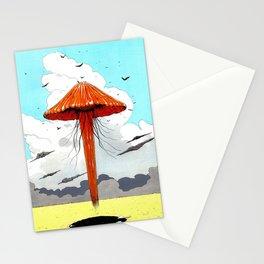 méduse volante #1 Stationery Cards