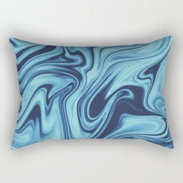 We All Flow On // Day Rectangular Pillow