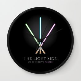 The Light Side Wall Clock