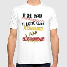 mind blown T-shirt