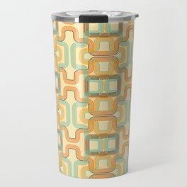 Vintage lines Travel Mug