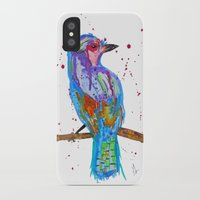 coco iPhone & iPod Cases featuring coco by Laurie Art Gallery