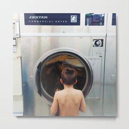 laundromat Metal Print