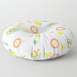 Floriculture Floor Pillow
