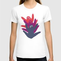 sloths T-shirts featuring Color sloths by Darish