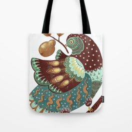 A Partridge In A Pear Tree II Tote Bag