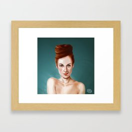 Zoe Keating  Framed Art Print