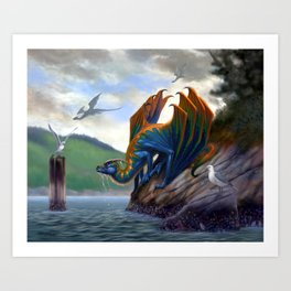 Vancouver Island Sea Dragon Art Print