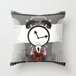 NAO ACREDITO EM DESPERTADORES Throw Pillow
