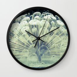 Fountain in Oslo Wall Clock
