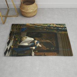 Johannes Vermeer - The Allegory of Faith Rug
