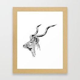 Kudo Bull Framed Art Print
