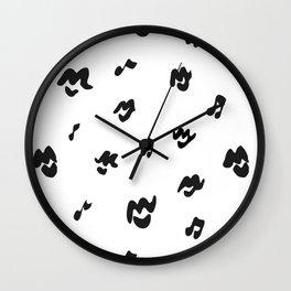 Music Lips Wall Clock