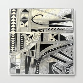 Systematic Chaos 4 Metal Print