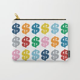 Colourful Money Carry-All Pouch