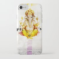 ganesha iPhone & iPod Cases featuring Ganesha by O. Be