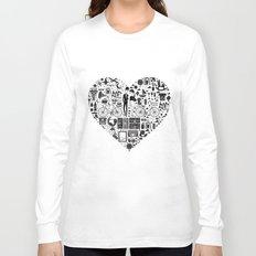 LIKES PATTERNS Long Sleeve T-shirt