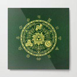 Zelda Triforce  Metal Print