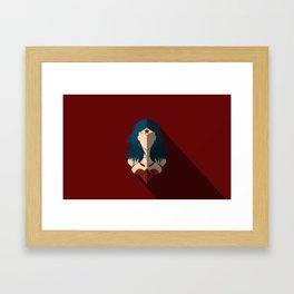 Comic Icon Framed Art Print