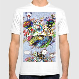 Takashi Murakami with Signature - Chaos Print T-shirt