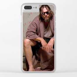 The Dude Clear iPhone Case