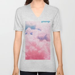 Candy Sky Unisex V-Neck