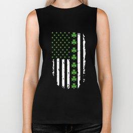 St.Patricks Day Irish American t-Shirts Biker Tank