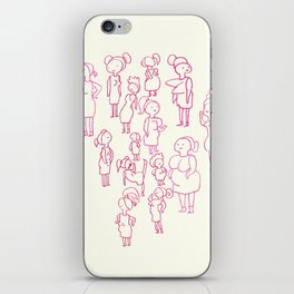 Booby Positivity Party iPhone Skin
