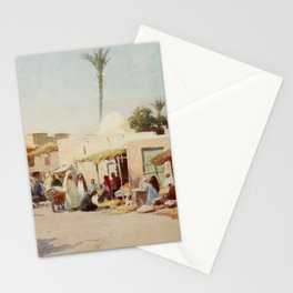 Kelly, Robert Talbot (1861-1934) - Egypt 1903, A corner in the market-place Stationery Cards