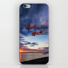 Breitling Wingwalkers Sunset iPhone & iPod Skin