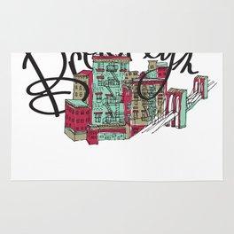 Brooklyn Typography Rug