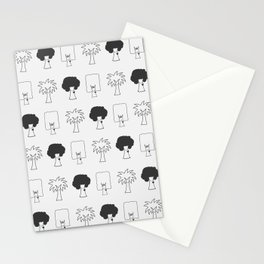 Happy Trees Stationery Cards