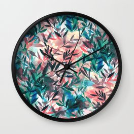 Changes Coral Wall Clock