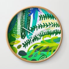 Between the branches. IV Wall Clock