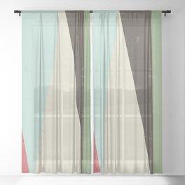 HERE VI Sheer Curtain