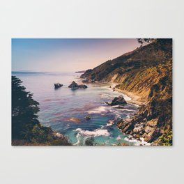 Big Sur Pacific Coast Highway Canvas Print