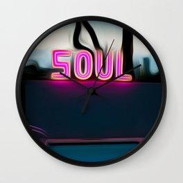 NEON POOL Wall Clock