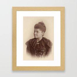 Ida B. Wells 1893 Framed Art Print