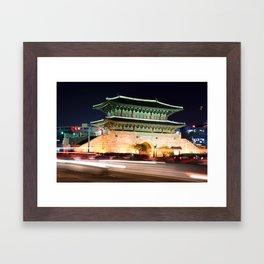 Dongdaemun Framed Art Print