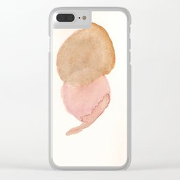 Blots Clear iPhone Case