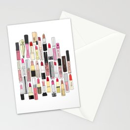 Lipstick Forever Stationery Cards