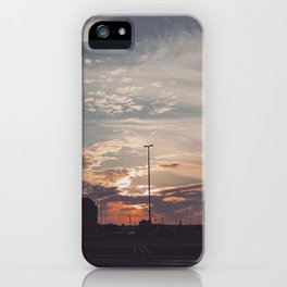 Carrefour Laval at Dusk iPhone Case
