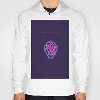jojo Hoodies featuring SHINE ON YOU CRAZY DIAMOND - PINK FLOYD - JOJO by Mirco Greselin