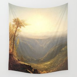 A Gorge in the Mountains by Sanford Robinson Gifford 1862 Wall Tapestry